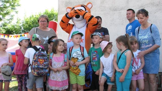 Dzień Dziecka w Zespole Szkolno-Przedszkolnym w Rajgrodzie. Zdj. Nr. 3