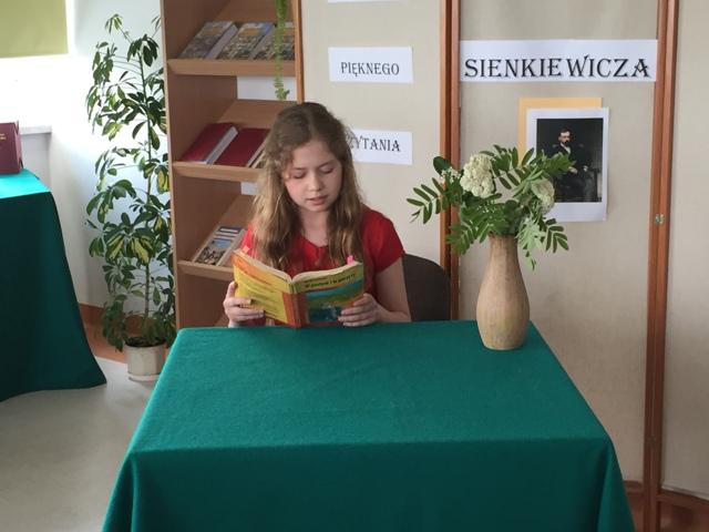 ,, Mistrz pięknego czytania'' Zdj. Nr. 2