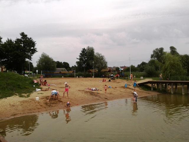 Weekend na plaży w Rajgrodzie Zdj. Nr 1