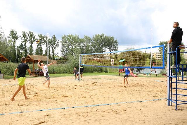 Turniej Plażowej Piłki Siatkowej Zdj. Nr 1