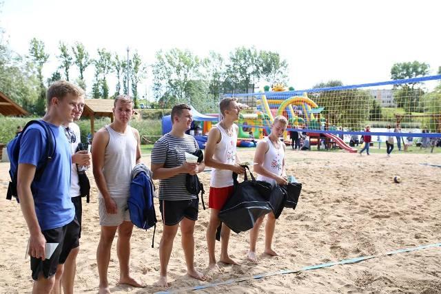 Turniej Plażowej Piłki Siatkowej Zdj. Nr 6