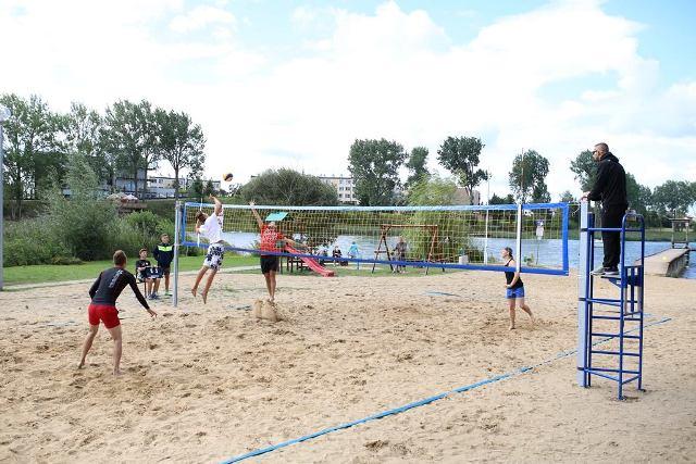 Turniej Plażowej Piłki Siatkowej Zdj. Nr 9