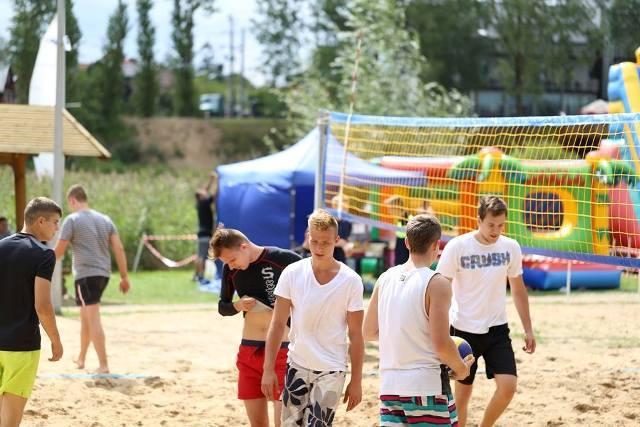 Turniej Plażowej Piłki Siatkowej Zdj. Nr 13