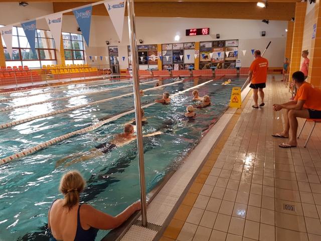 Zajęcia na Pływalni Miejskiej Zdj. Nr 5